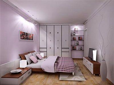 长方形卧室装修设计图,长方形卧室家具摆放图,长方形卧室设